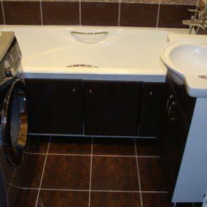 Бюджетный ремонт ванной (Академика Королева) фото