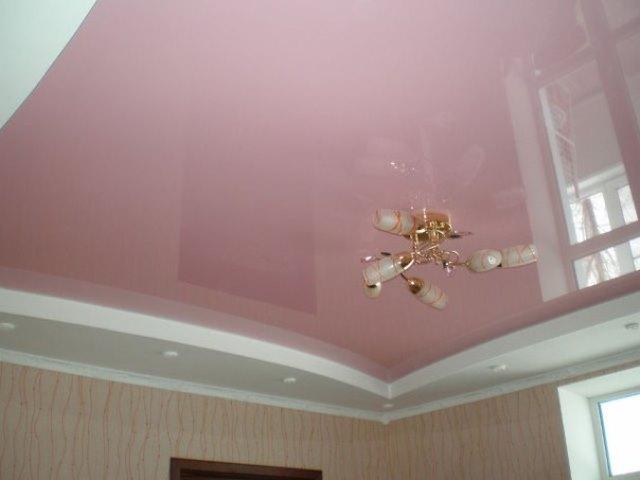 Натяжной потолок фото 3