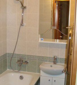 Ремонт ванной комнаты ул. Щелоковская фото 1