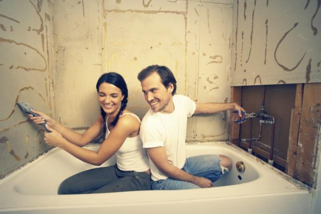 Как сделать ремонт в ванной 2 на  695