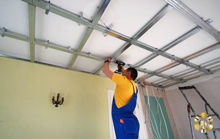 Гипсокартон или натяжной потолок