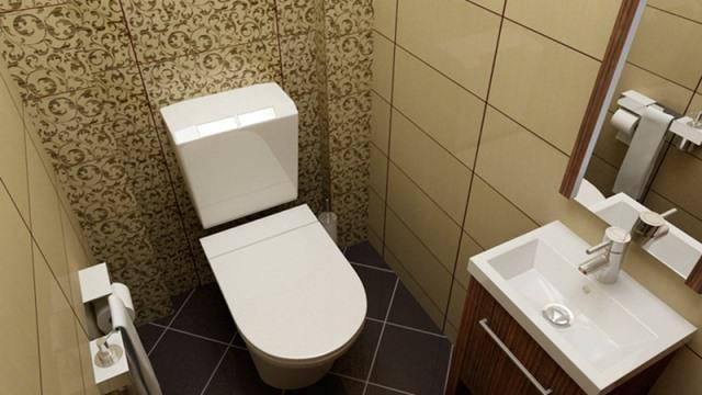 Капитальный ремонт туалета под ключ в Москве