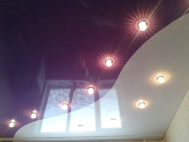 Натяжной потолок фото 1