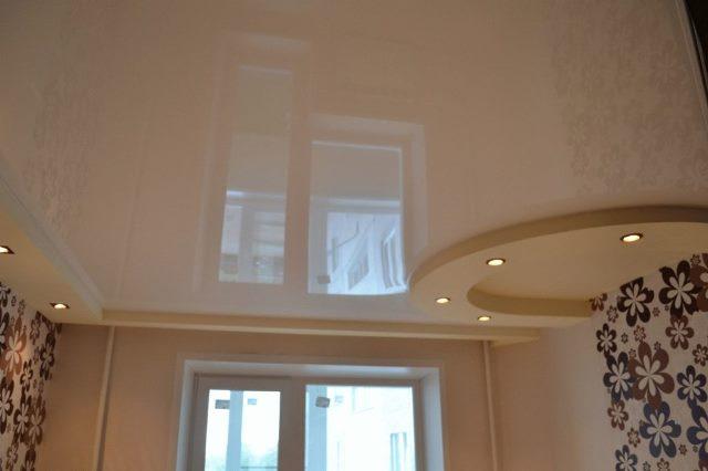 Натяжной потолок фото 4