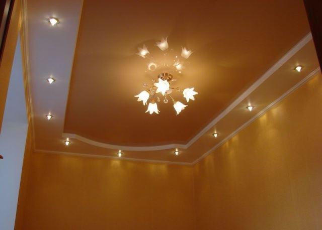 Натяжной потолок фото 5