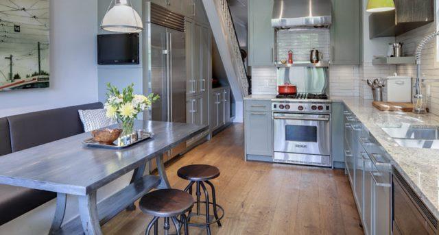 Ремонт кухни под ключ с материалами